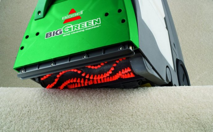 Excellent guide for using the Bissell Big Green carpet cleaner